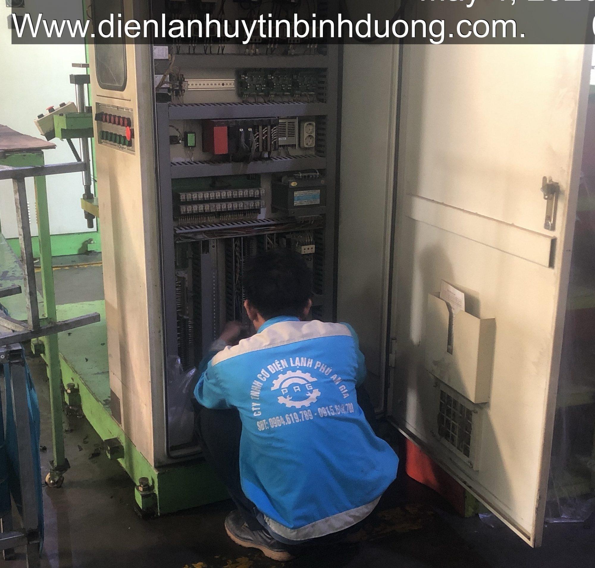 Sửa Chữa Tủ điện công nghiệp
