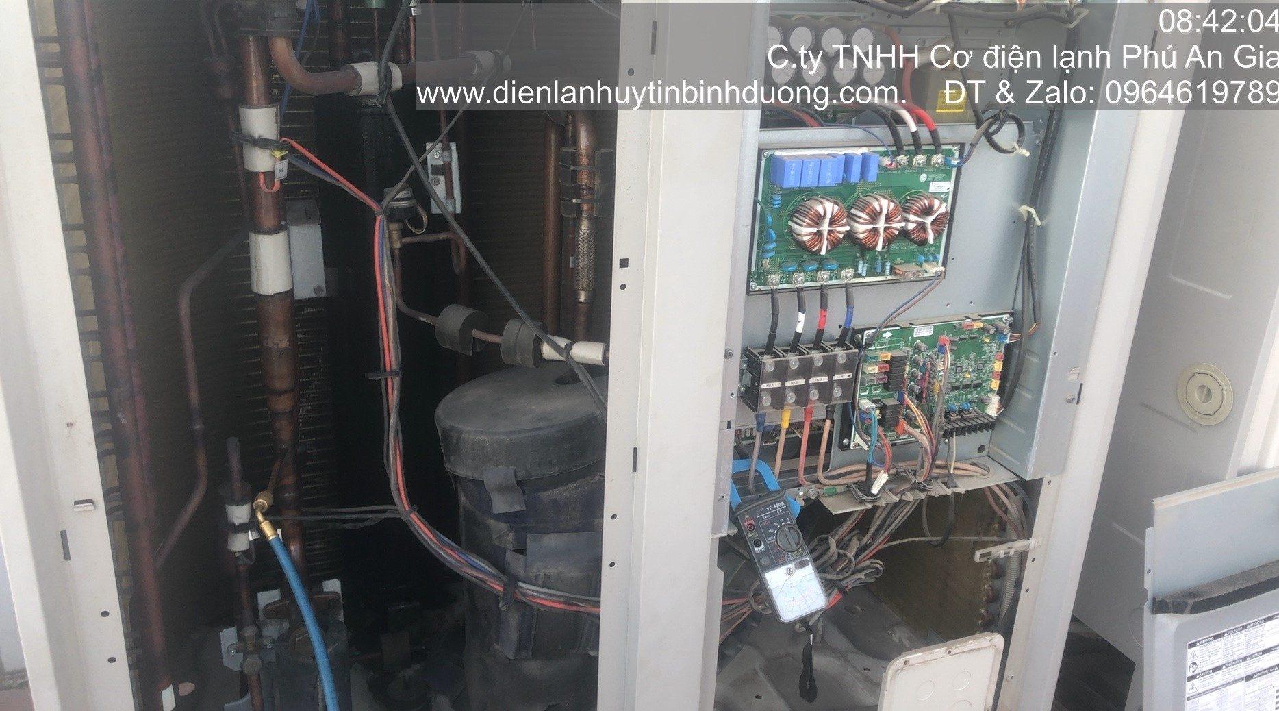 Tổ Hợp Máy Lạnh Công Nghiệp LG Muti