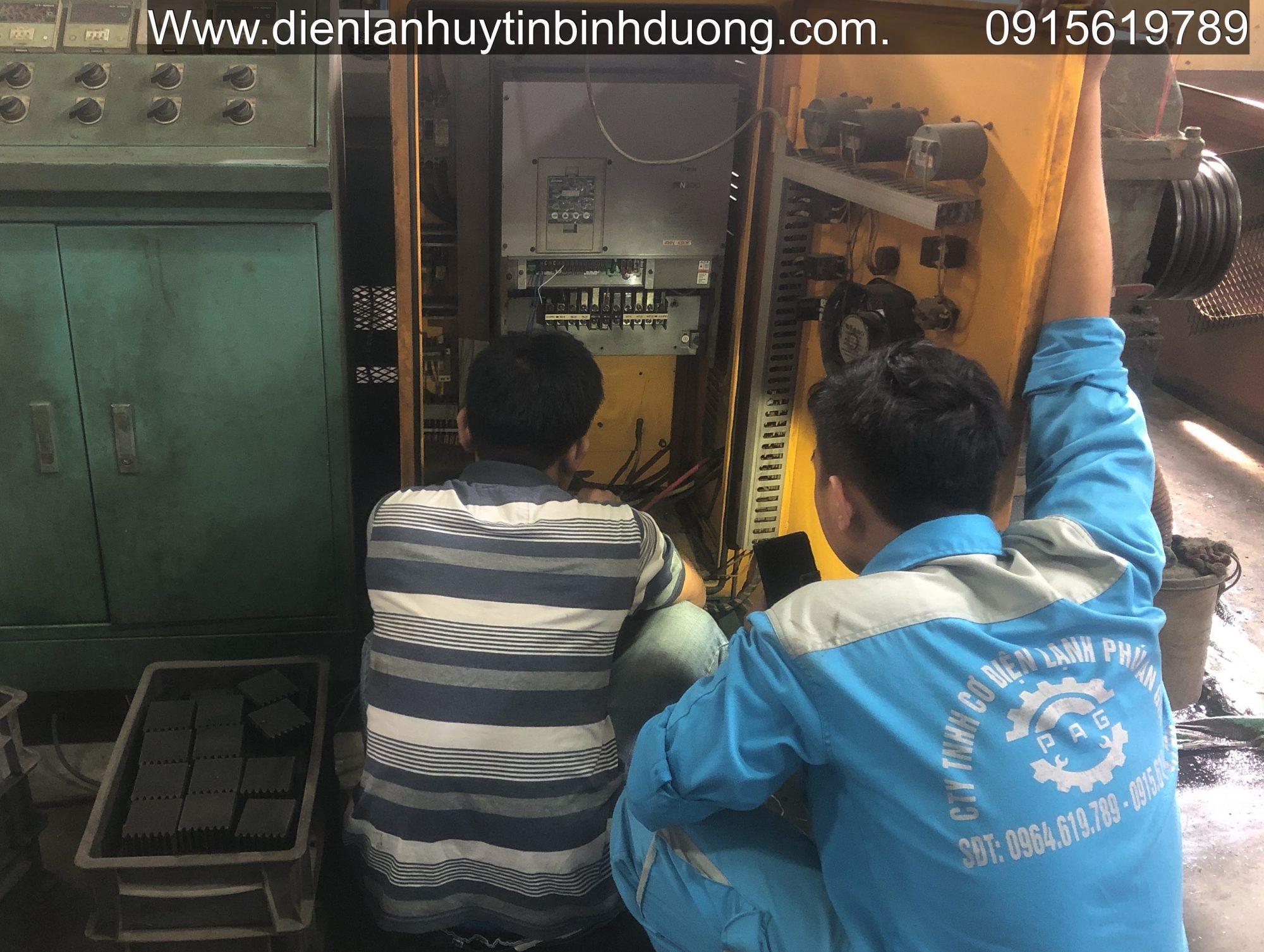 Sửa điện Công Nghiệp Bình Dương