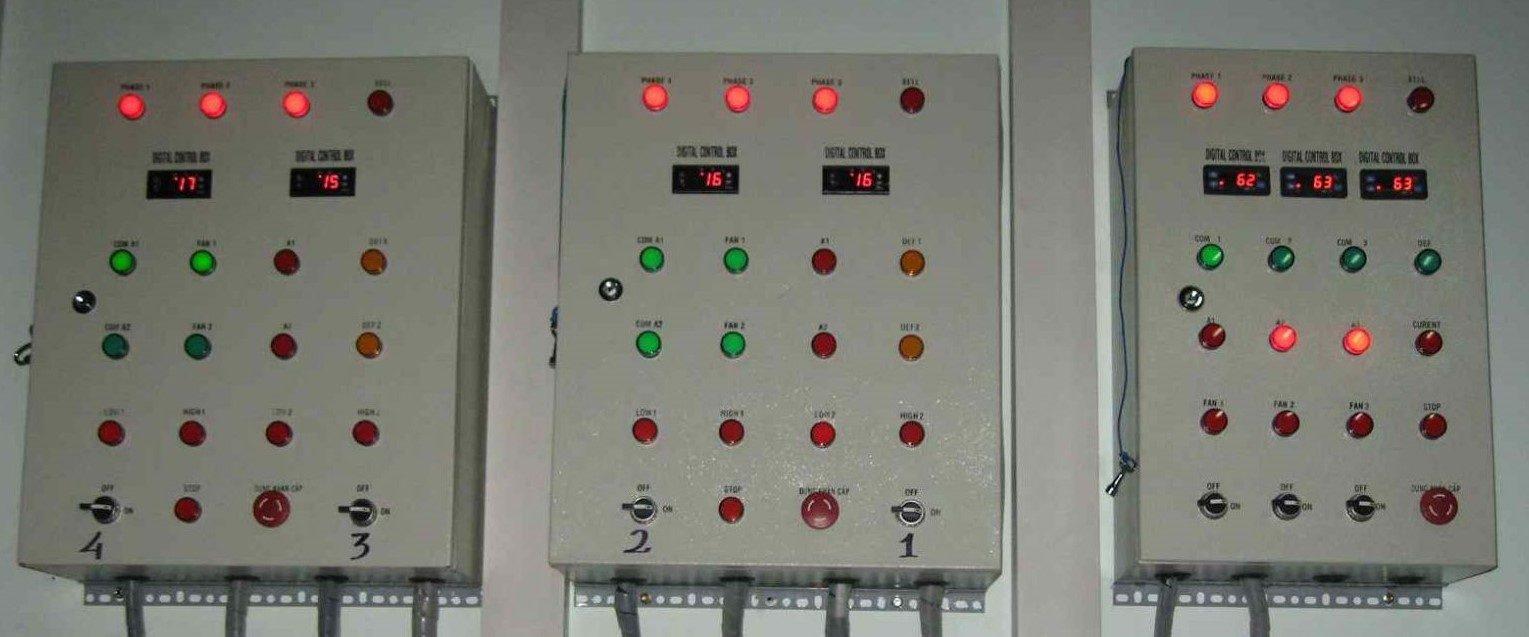Lắp Ráp Tủ điện Kho đông Lạnh