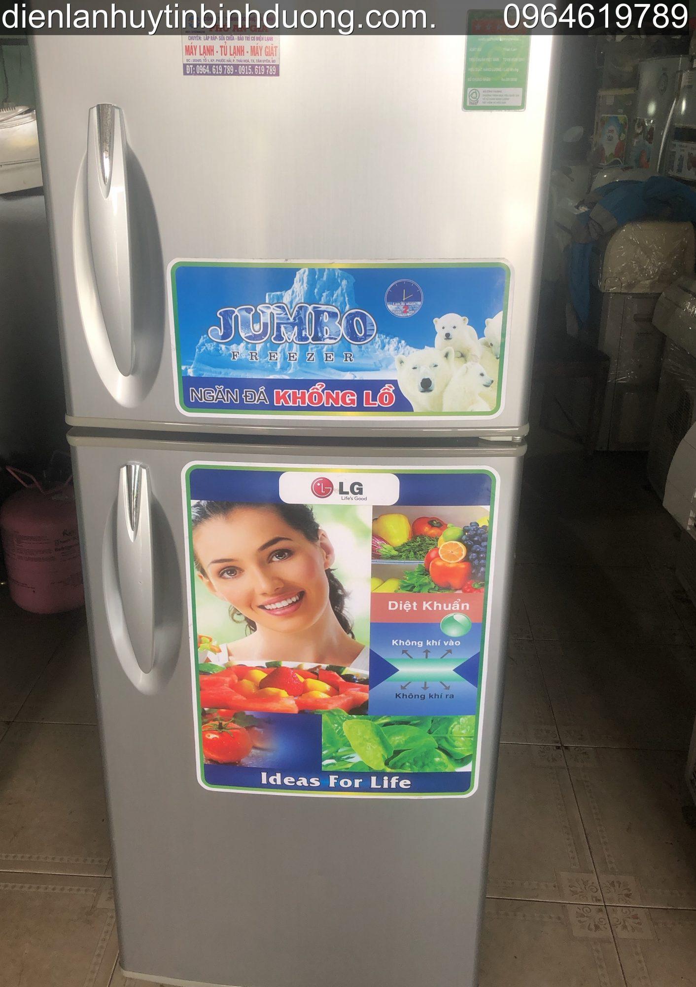 Tủ lạnh LG 210 lít Củ (đã qua sử dụng còn 90%) - ĐT: 0964619789