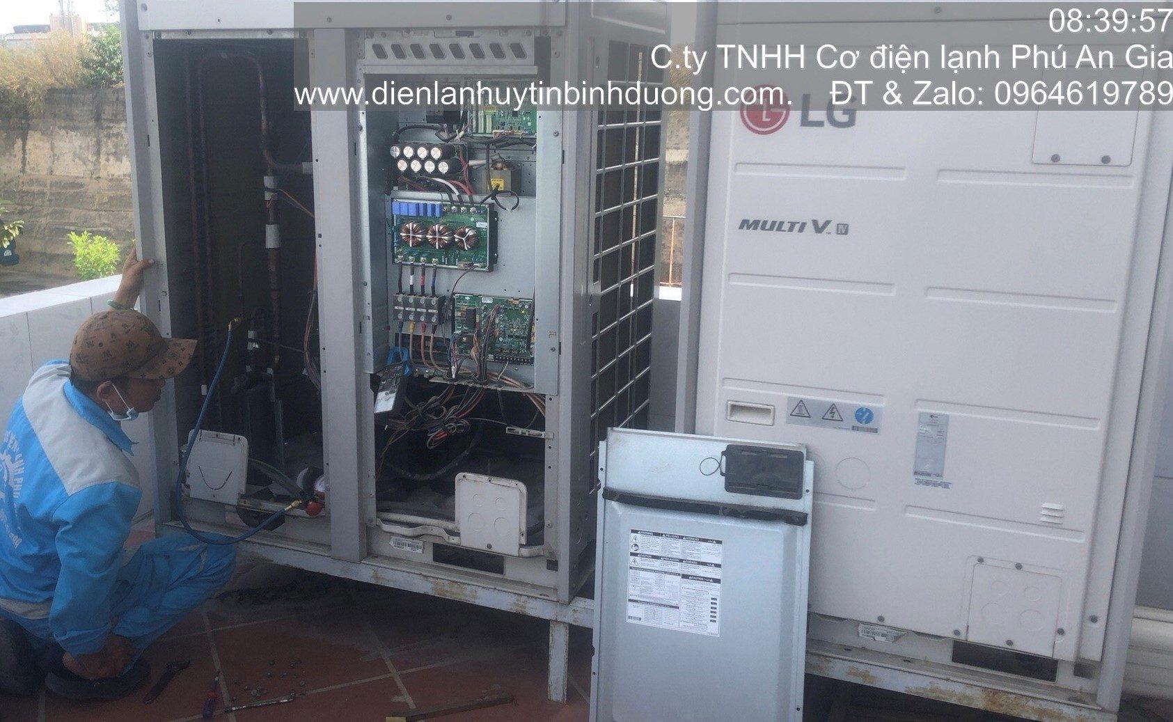 Sửa Máy Lạnh Trung Tâm Lg