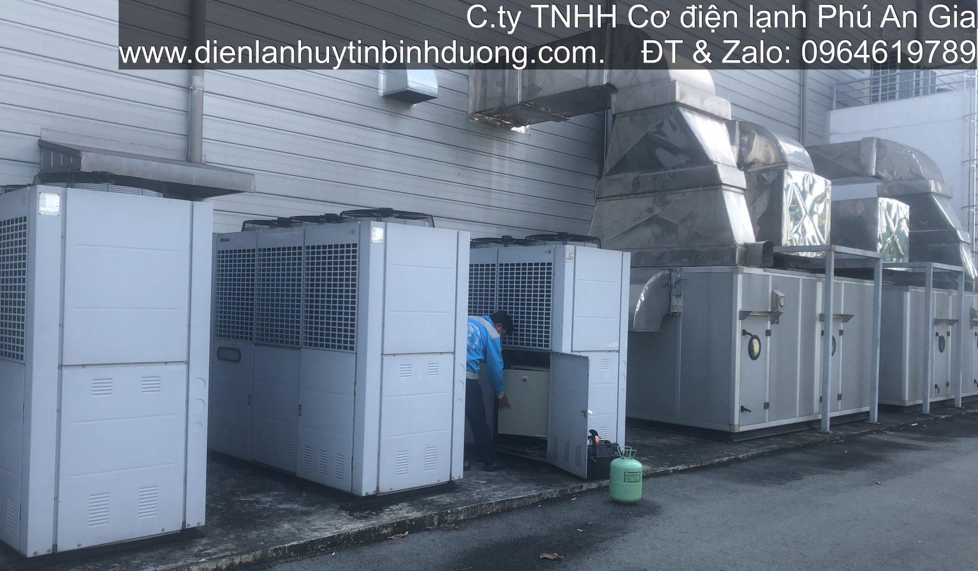 Máy Lạnh Trung Tâm, AHU
