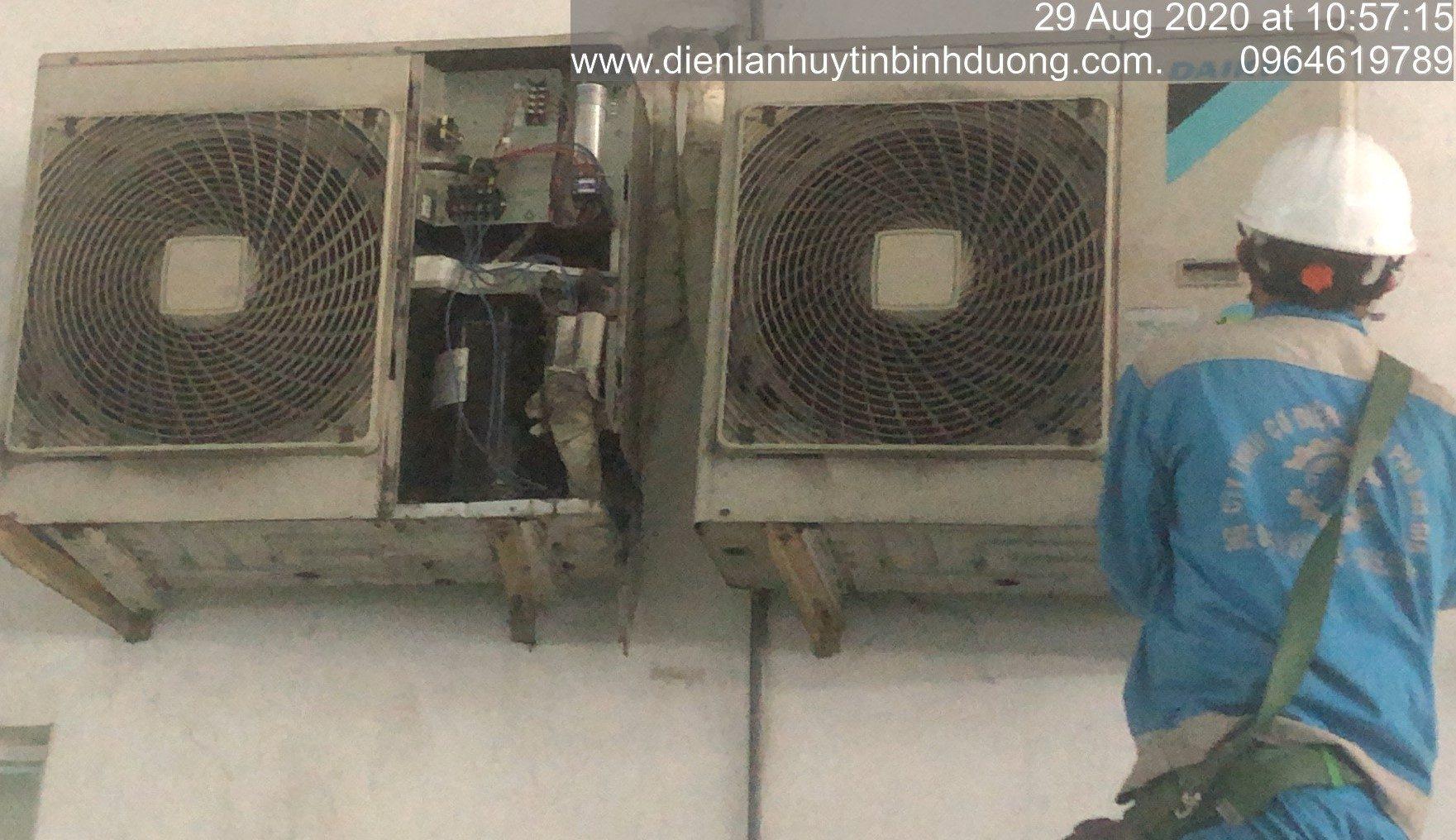 Vệ Sinh Sửa Chữa Máy Lạnh Daikin 5,0hp